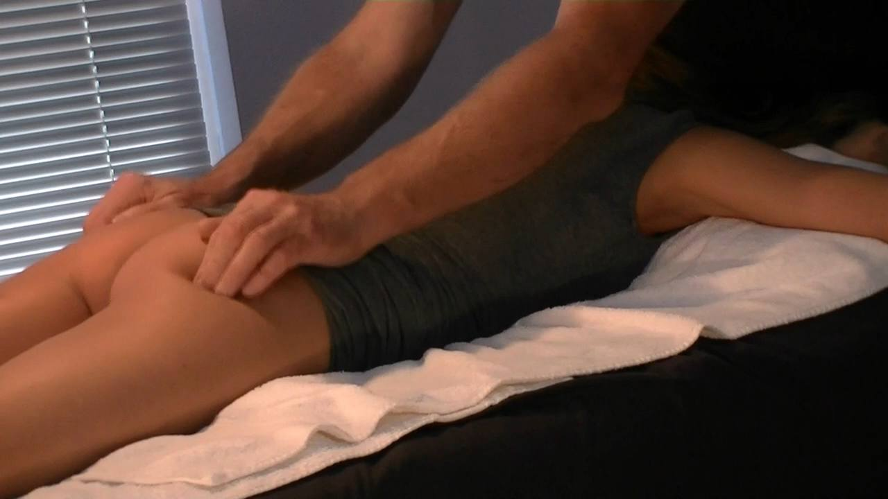 Butt Massage by Male Escort